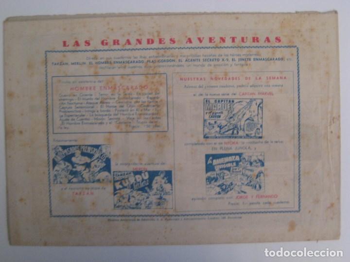 Comics: HISPANO AMERICANA - EL HOMBRE ENMASCARADO. LOTE DE 82 EJEMPLARES (GRAN FORMATO). AÑO 1941 - Foto 39 - 121658267
