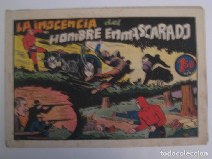 Comics: HISPANO AMERICANA - EL HOMBRE ENMASCARADO. LOTE DE 82 EJEMPLARES (GRAN FORMATO). AÑO 1941 - Foto 40 - 121658267
