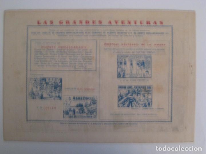 Comics: HISPANO AMERICANA - EL HOMBRE ENMASCARADO. LOTE DE 82 EJEMPLARES (GRAN FORMATO). AÑO 1941 - Foto 41 - 121658267