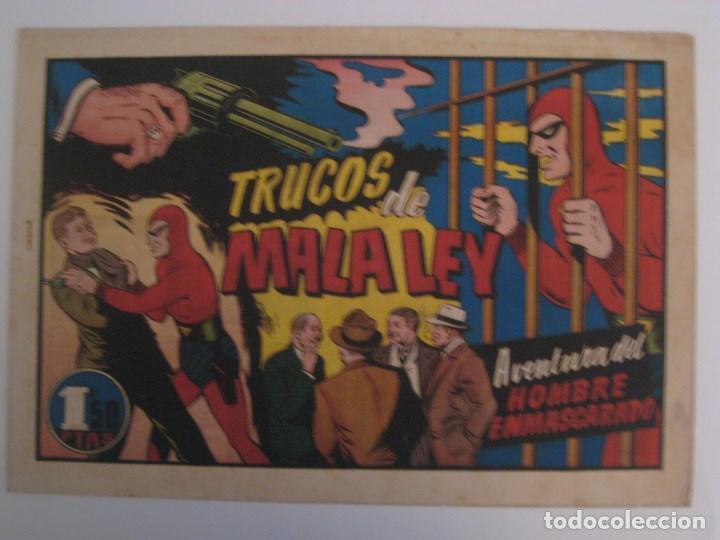 Comics: HISPANO AMERICANA - EL HOMBRE ENMASCARADO. LOTE DE 82 EJEMPLARES (GRAN FORMATO). AÑO 1941 - Foto 42 - 121658267