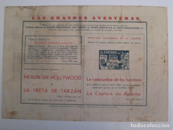 Comics: HISPANO AMERICANA - EL HOMBRE ENMASCARADO. LOTE DE 82 EJEMPLARES (GRAN FORMATO). AÑO 1941 - Foto 43 - 121658267