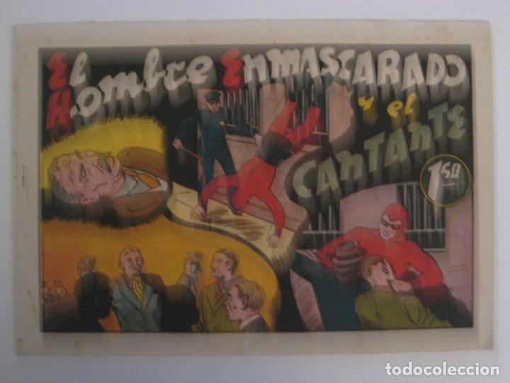 Comics: HISPANO AMERICANA - EL HOMBRE ENMASCARADO. LOTE DE 82 EJEMPLARES (GRAN FORMATO). AÑO 1941 - Foto 44 - 121658267