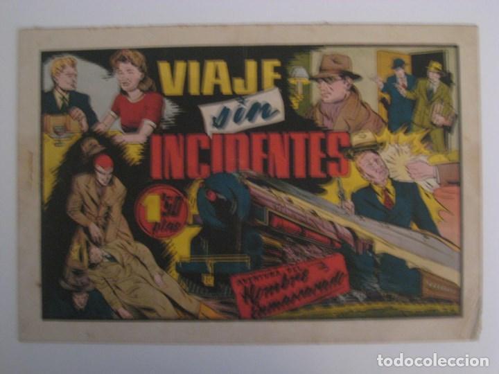 Comics: HISPANO AMERICANA - EL HOMBRE ENMASCARADO. LOTE DE 82 EJEMPLARES (GRAN FORMATO). AÑO 1941 - Foto 46 - 121658267