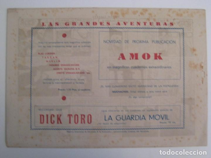 Comics: HISPANO AMERICANA - EL HOMBRE ENMASCARADO. LOTE DE 82 EJEMPLARES (GRAN FORMATO). AÑO 1941 - Foto 47 - 121658267