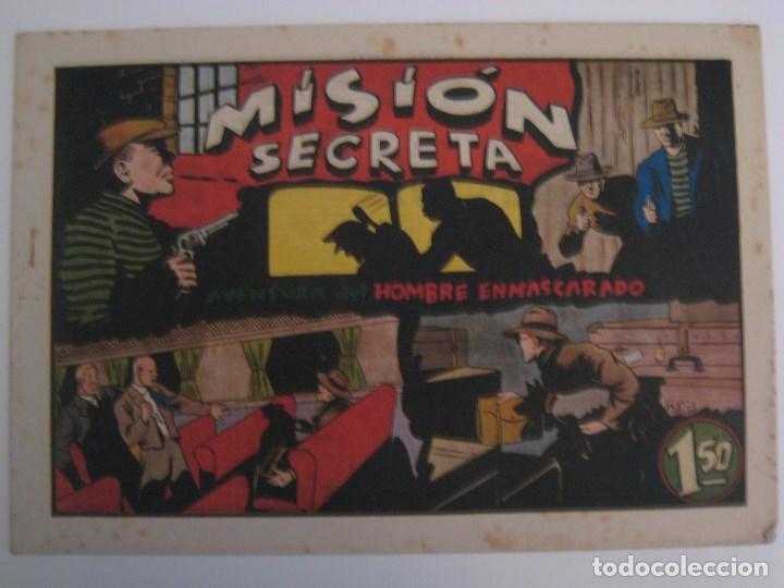 Comics: HISPANO AMERICANA - EL HOMBRE ENMASCARADO. LOTE DE 82 EJEMPLARES (GRAN FORMATO). AÑO 1941 - Foto 48 - 121658267