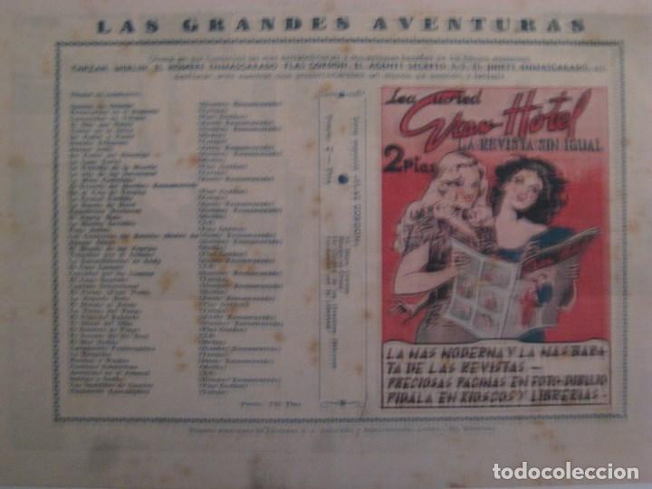 Comics: HISPANO AMERICANA - EL HOMBRE ENMASCARADO. LOTE DE 82 EJEMPLARES (GRAN FORMATO). AÑO 1941 - Foto 51 - 121658267