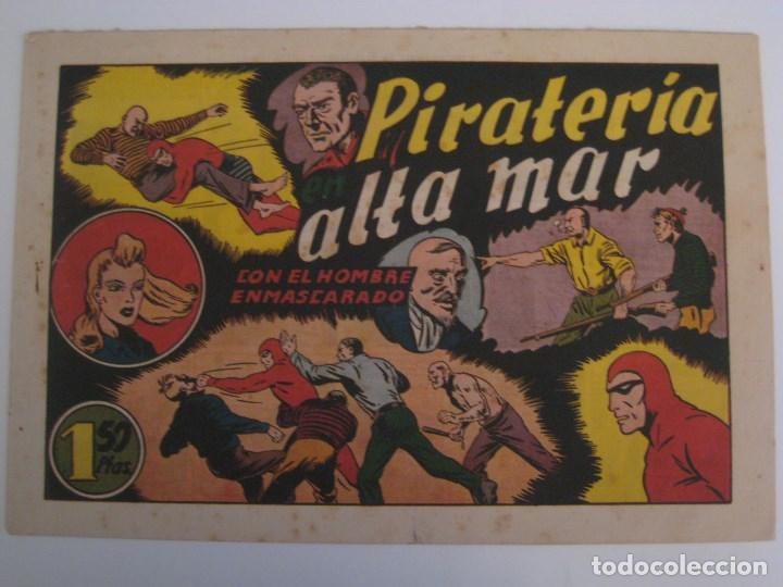 Comics: HISPANO AMERICANA - EL HOMBRE ENMASCARADO. LOTE DE 82 EJEMPLARES (GRAN FORMATO). AÑO 1941 - Foto 52 - 121658267