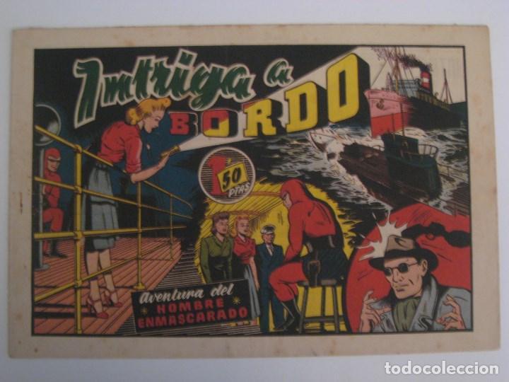Comics: HISPANO AMERICANA - EL HOMBRE ENMASCARADO. LOTE DE 82 EJEMPLARES (GRAN FORMATO). AÑO 1941 - Foto 54 - 121658267