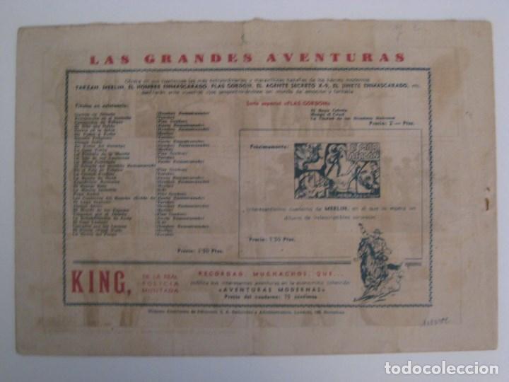 Comics: HISPANO AMERICANA - EL HOMBRE ENMASCARADO. LOTE DE 82 EJEMPLARES (GRAN FORMATO). AÑO 1941 - Foto 55 - 121658267