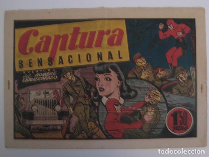 Comics: HISPANO AMERICANA - EL HOMBRE ENMASCARADO. LOTE DE 82 EJEMPLARES (GRAN FORMATO). AÑO 1941 - Foto 56 - 121658267