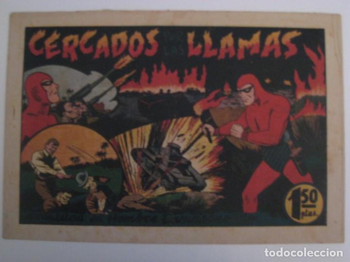 Comics: HISPANO AMERICANA - EL HOMBRE ENMASCARADO. LOTE DE 82 EJEMPLARES (GRAN FORMATO). AÑO 1941 - Foto 58 - 121658267