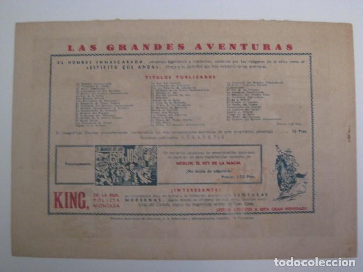 Comics: HISPANO AMERICANA - EL HOMBRE ENMASCARADO. LOTE DE 82 EJEMPLARES (GRAN FORMATO). AÑO 1941 - Foto 59 - 121658267