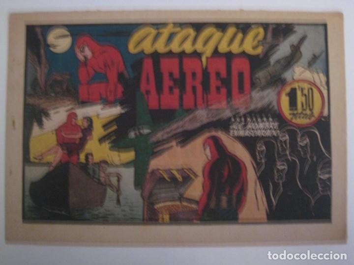 Comics: HISPANO AMERICANA - EL HOMBRE ENMASCARADO. LOTE DE 82 EJEMPLARES (GRAN FORMATO). AÑO 1941 - Foto 60 - 121658267