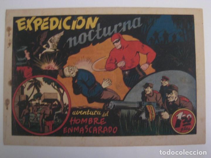 Comics: HISPANO AMERICANA - EL HOMBRE ENMASCARADO. LOTE DE 82 EJEMPLARES (GRAN FORMATO). AÑO 1941 - Foto 62 - 121658267