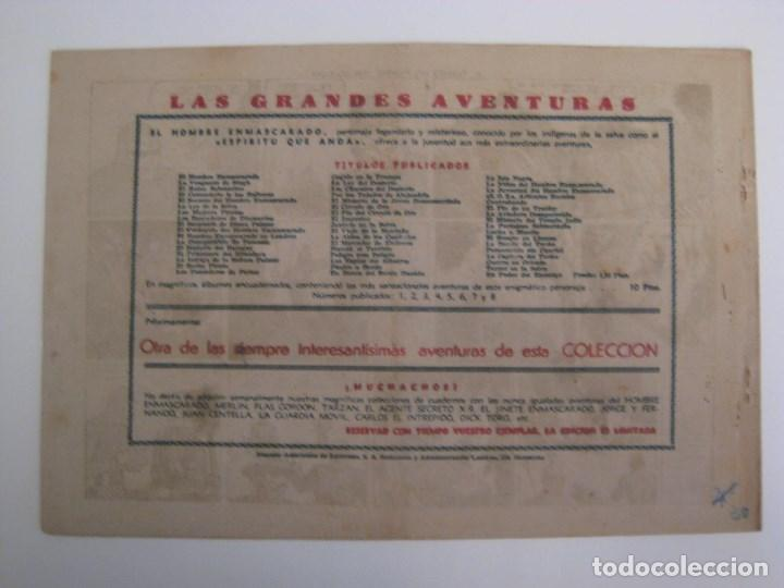 Comics: HISPANO AMERICANA - EL HOMBRE ENMASCARADO. LOTE DE 82 EJEMPLARES (GRAN FORMATO). AÑO 1941 - Foto 63 - 121658267