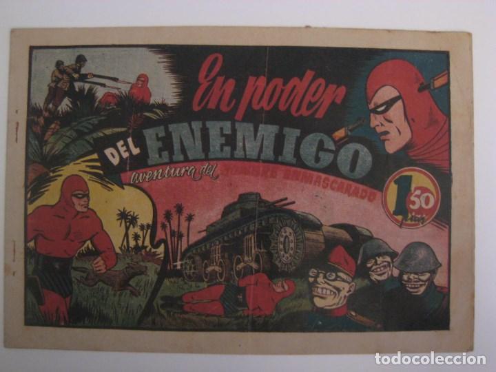 Comics: HISPANO AMERICANA - EL HOMBRE ENMASCARADO. LOTE DE 82 EJEMPLARES (GRAN FORMATO). AÑO 1941 - Foto 66 - 121658267