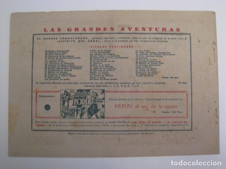 Comics: HISPANO AMERICANA - EL HOMBRE ENMASCARADO. LOTE DE 82 EJEMPLARES (GRAN FORMATO). AÑO 1941 - Foto 67 - 121658267