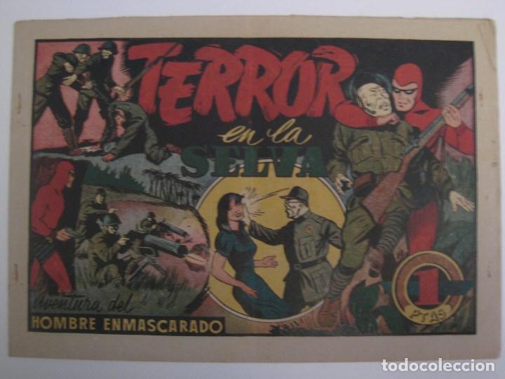 Comics: HISPANO AMERICANA - EL HOMBRE ENMASCARADO. LOTE DE 82 EJEMPLARES (GRAN FORMATO). AÑO 1941 - Foto 68 - 121658267