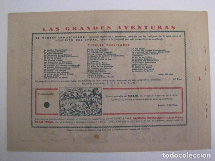 Comics: HISPANO AMERICANA - EL HOMBRE ENMASCARADO. LOTE DE 82 EJEMPLARES (GRAN FORMATO). AÑO 1941 - Foto 69 - 121658267