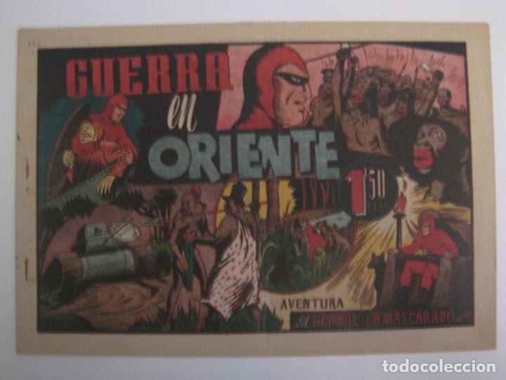 Comics: HISPANO AMERICANA - EL HOMBRE ENMASCARADO. LOTE DE 82 EJEMPLARES (GRAN FORMATO). AÑO 1941 - Foto 70 - 121658267