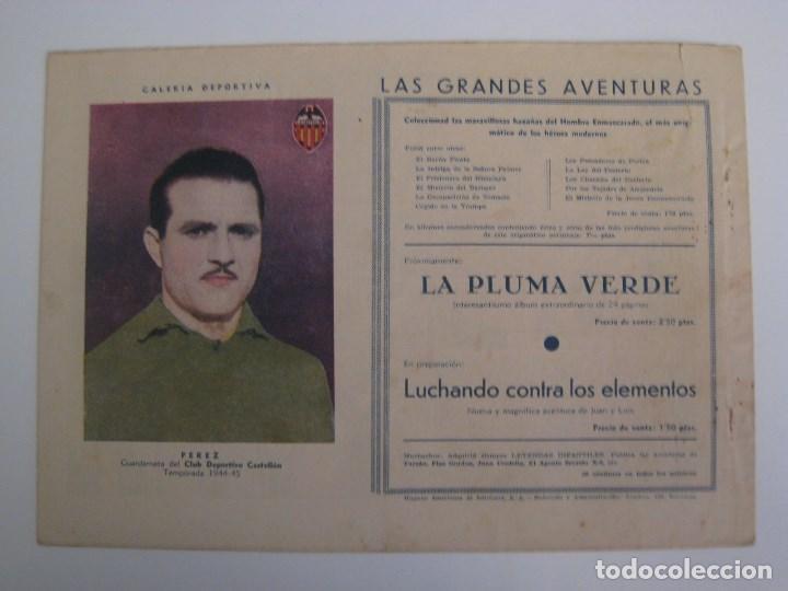 Comics: HISPANO AMERICANA - EL HOMBRE ENMASCARADO. LOTE DE 82 EJEMPLARES (GRAN FORMATO). AÑO 1941 - Foto 73 - 121658267