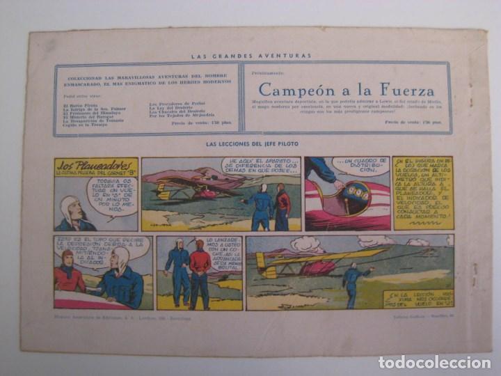 Comics: HISPANO AMERICANA - EL HOMBRE ENMASCARADO. LOTE DE 82 EJEMPLARES (GRAN FORMATO). AÑO 1941 - Foto 75 - 121658267