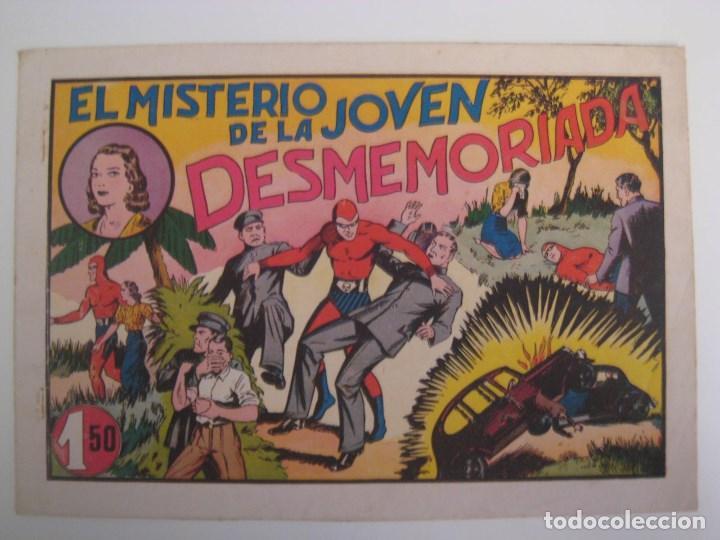 Comics: HISPANO AMERICANA - EL HOMBRE ENMASCARADO. LOTE DE 82 EJEMPLARES (GRAN FORMATO). AÑO 1941 - Foto 76 - 121658267