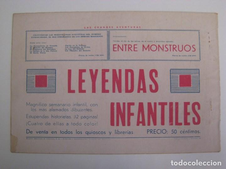 Comics: HISPANO AMERICANA - EL HOMBRE ENMASCARADO. LOTE DE 82 EJEMPLARES (GRAN FORMATO). AÑO 1941 - Foto 77 - 121658267