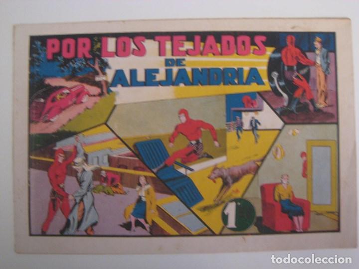 Comics: HISPANO AMERICANA - EL HOMBRE ENMASCARADO. LOTE DE 82 EJEMPLARES (GRAN FORMATO). AÑO 1941 - Foto 78 - 121658267