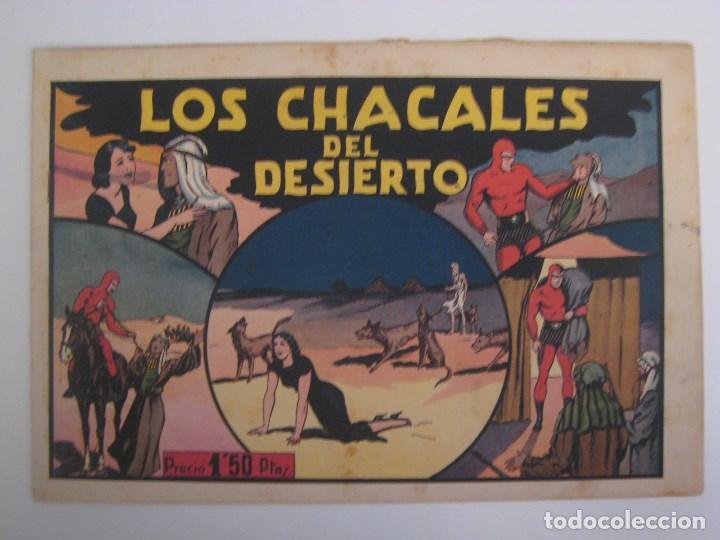 Comics: HISPANO AMERICANA - EL HOMBRE ENMASCARADO. LOTE DE 82 EJEMPLARES (GRAN FORMATO). AÑO 1941 - Foto 80 - 121658267
