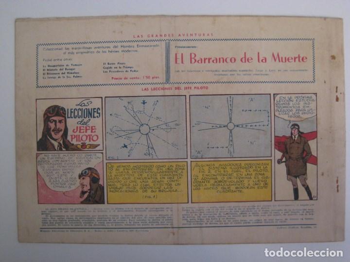 Comics: HISPANO AMERICANA - EL HOMBRE ENMASCARADO. LOTE DE 82 EJEMPLARES (GRAN FORMATO). AÑO 1941 - Foto 81 - 121658267