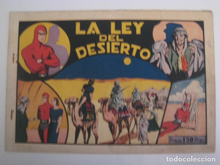 Comics: HISPANO AMERICANA - EL HOMBRE ENMASCARADO. LOTE DE 82 EJEMPLARES (GRAN FORMATO). AÑO 1941 - Foto 82 - 121658267