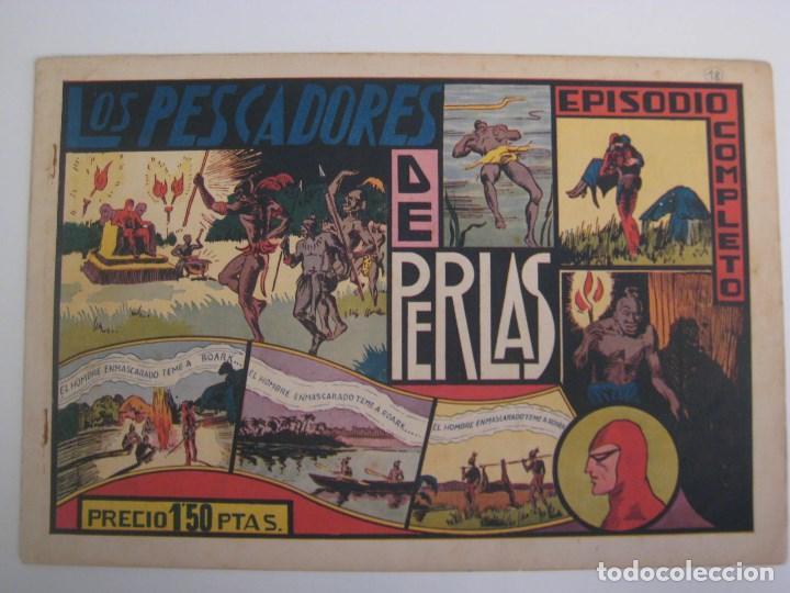 Comics: HISPANO AMERICANA - EL HOMBRE ENMASCARADO. LOTE DE 82 EJEMPLARES (GRAN FORMATO). AÑO 1941 - Foto 84 - 121658267