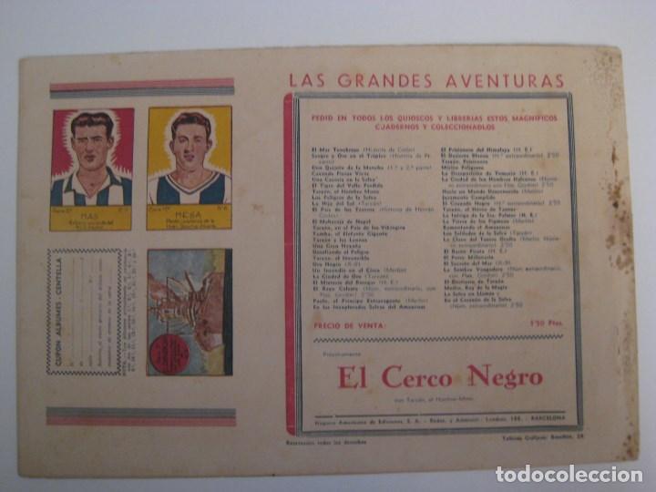 Comics: HISPANO AMERICANA - EL HOMBRE ENMASCARADO. LOTE DE 82 EJEMPLARES (GRAN FORMATO). AÑO 1941 - Foto 85 - 121658267