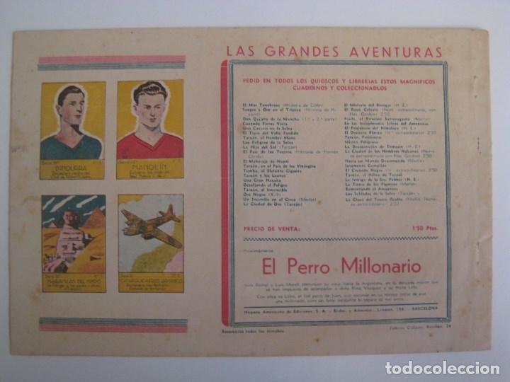 Comics: HISPANO AMERICANA - EL HOMBRE ENMASCARADO. LOTE DE 82 EJEMPLARES (GRAN FORMATO). AÑO 1941 - Foto 87 - 121658267