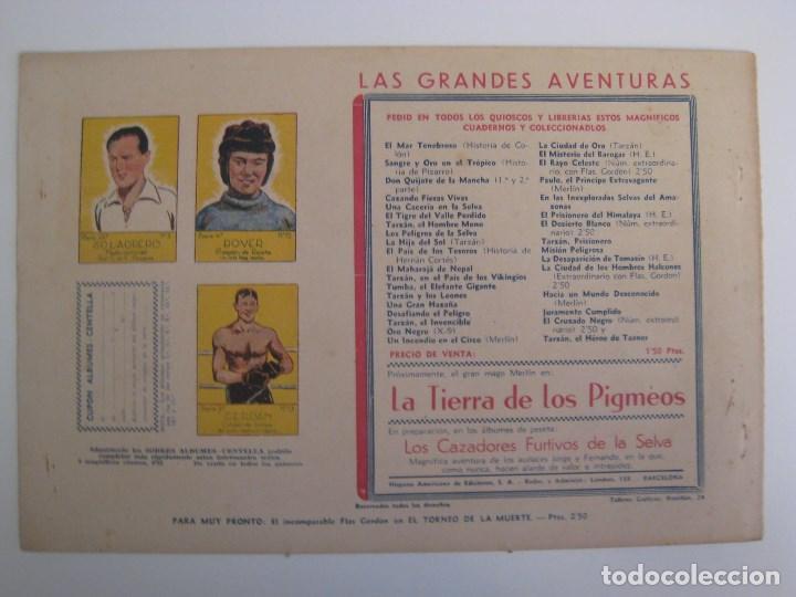Comics: HISPANO AMERICANA - EL HOMBRE ENMASCARADO. LOTE DE 82 EJEMPLARES (GRAN FORMATO). AÑO 1941 - Foto 89 - 121658267