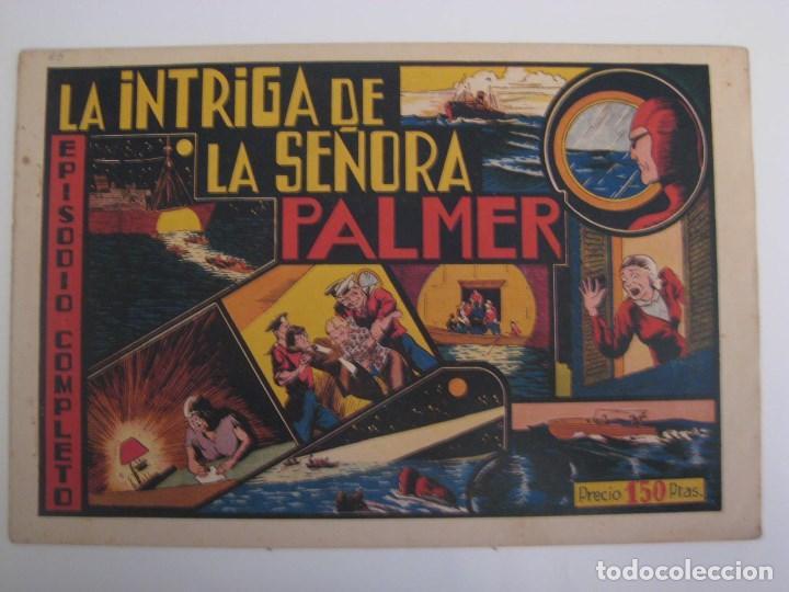 Comics: HISPANO AMERICANA - EL HOMBRE ENMASCARADO. LOTE DE 82 EJEMPLARES (GRAN FORMATO). AÑO 1941 - Foto 90 - 121658267