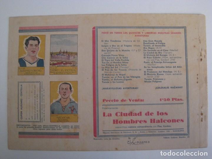 Comics: HISPANO AMERICANA - EL HOMBRE ENMASCARADO. LOTE DE 82 EJEMPLARES (GRAN FORMATO). AÑO 1941 - Foto 91 - 121658267