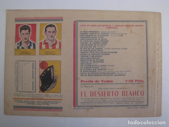 Comics: HISPANO AMERICANA - EL HOMBRE ENMASCARADO. LOTE DE 82 EJEMPLARES (GRAN FORMATO). AÑO 1941 - Foto 93 - 121658267