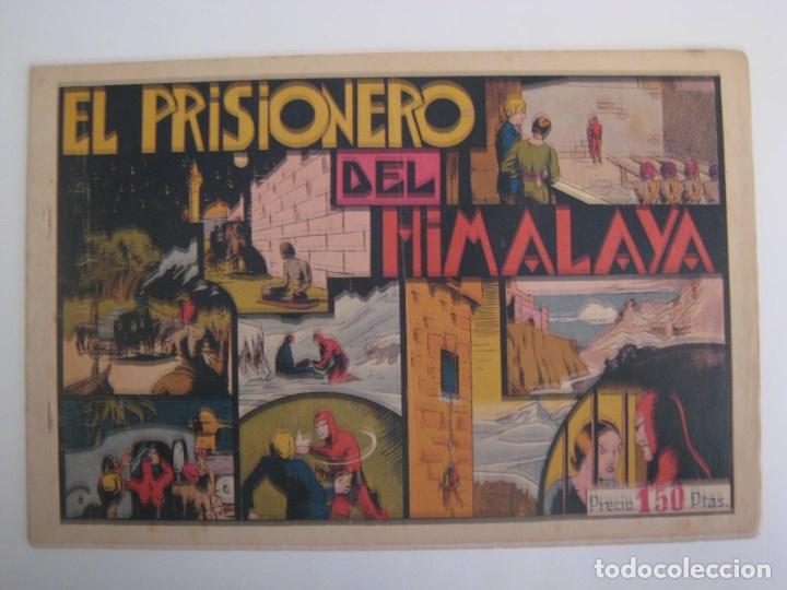Comics: HISPANO AMERICANA - EL HOMBRE ENMASCARADO. LOTE DE 82 EJEMPLARES (GRAN FORMATO). AÑO 1941 - Foto 94 - 121658267