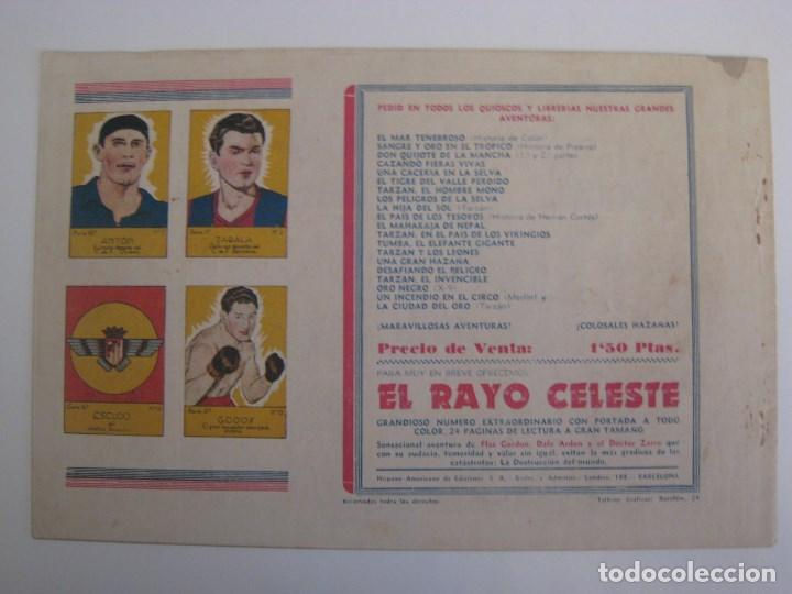 Comics: HISPANO AMERICANA - EL HOMBRE ENMASCARADO. LOTE DE 82 EJEMPLARES (GRAN FORMATO). AÑO 1941 - Foto 95 - 121658267