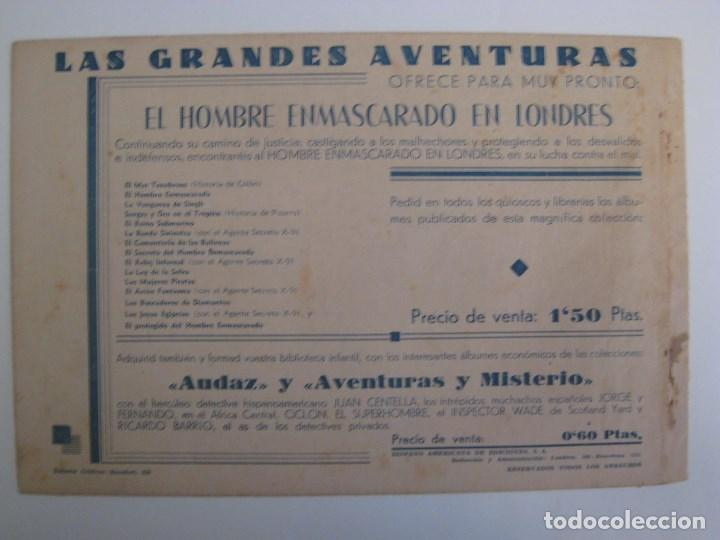 Comics: HISPANO AMERICANA - EL HOMBRE ENMASCARADO. LOTE DE 82 EJEMPLARES (GRAN FORMATO). AÑO 1941 - Foto 97 - 121658267