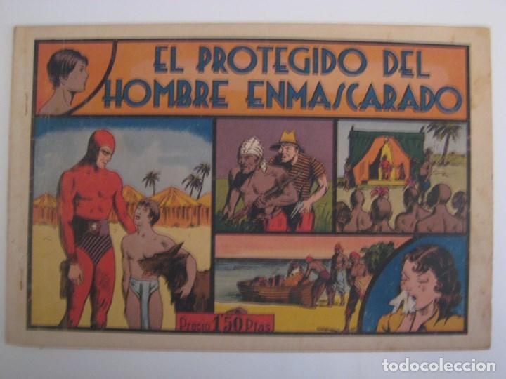 Comics: HISPANO AMERICANA - EL HOMBRE ENMASCARADO. LOTE DE 82 EJEMPLARES (GRAN FORMATO). AÑO 1941 - Foto 98 - 121658267