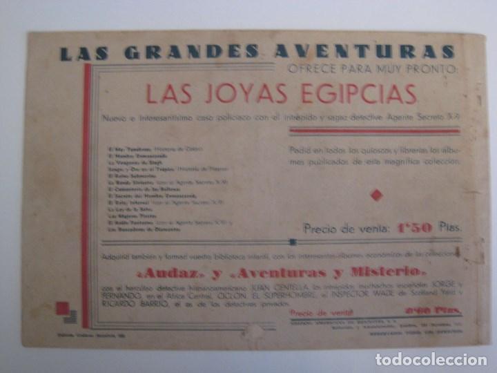 Comics: HISPANO AMERICANA - EL HOMBRE ENMASCARADO. LOTE DE 82 EJEMPLARES (GRAN FORMATO). AÑO 1941 - Foto 99 - 121658267