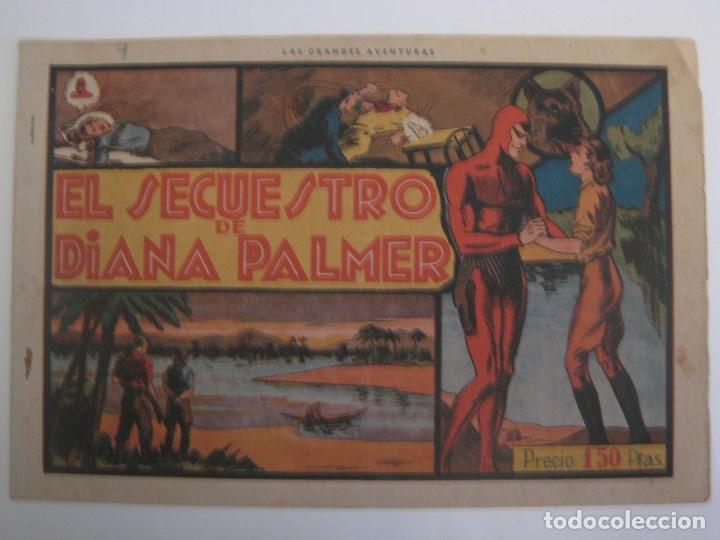 Comics: HISPANO AMERICANA - EL HOMBRE ENMASCARADO. LOTE DE 82 EJEMPLARES (GRAN FORMATO). AÑO 1941 - Foto 100 - 121658267