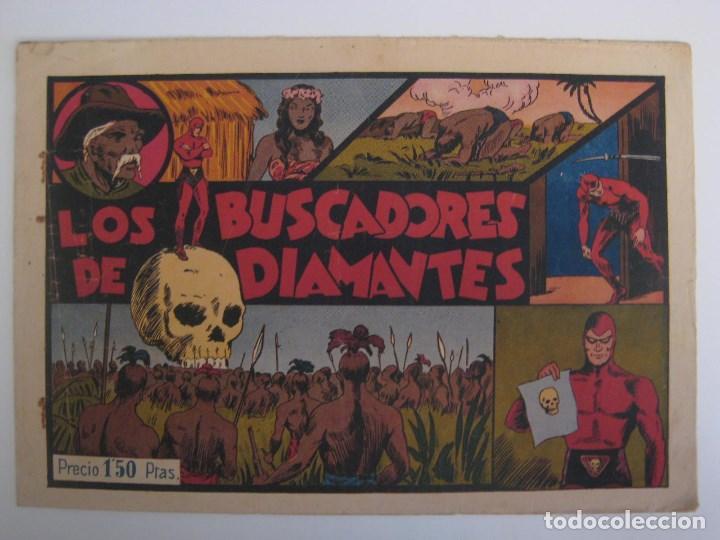 Comics: HISPANO AMERICANA - EL HOMBRE ENMASCARADO. LOTE DE 82 EJEMPLARES (GRAN FORMATO). AÑO 1941 - Foto 102 - 121658267