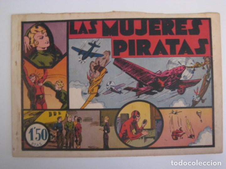 Comics: HISPANO AMERICANA - EL HOMBRE ENMASCARADO. LOTE DE 82 EJEMPLARES (GRAN FORMATO). AÑO 1941 - Foto 104 - 121658267