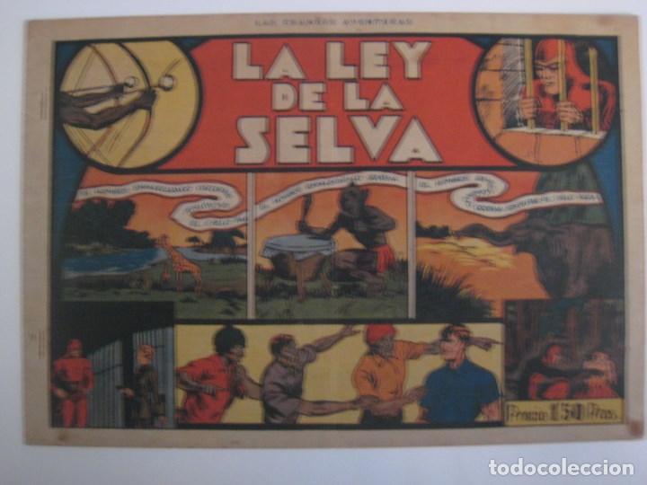 Comics: HISPANO AMERICANA - EL HOMBRE ENMASCARADO. LOTE DE 82 EJEMPLARES (GRAN FORMATO). AÑO 1941 - Foto 106 - 121658267