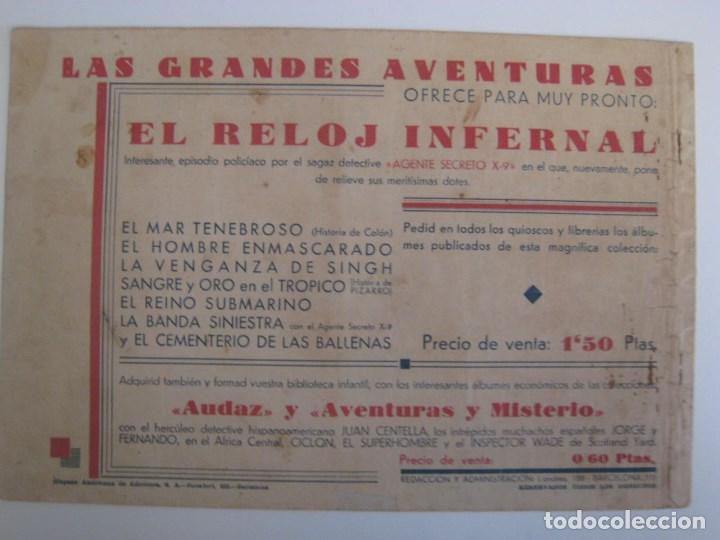 Comics: HISPANO AMERICANA - EL HOMBRE ENMASCARADO. LOTE DE 82 EJEMPLARES (GRAN FORMATO). AÑO 1941 - Foto 107 - 121658267
