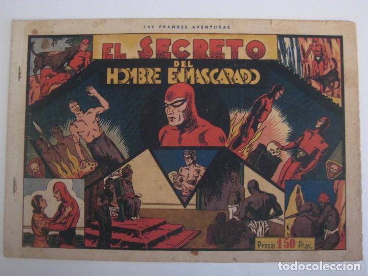Comics: HISPANO AMERICANA - EL HOMBRE ENMASCARADO. LOTE DE 82 EJEMPLARES (GRAN FORMATO). AÑO 1941 - Foto 108 - 121658267